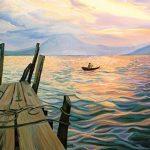 Heidi Steinman Art - Lake Atatlan, Guatelmala