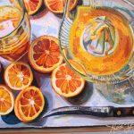 Heidi Steinman Art - Oranges